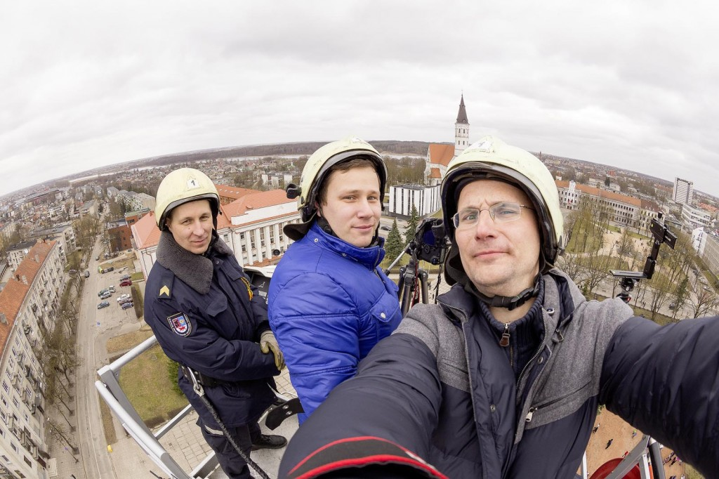 making of siauliai gigapixel portrait