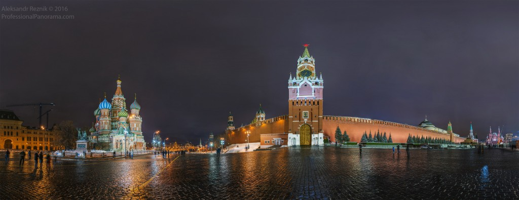 Red Square gigapixel panorama